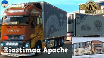 Euro Truck Simulator 2 Mods Riastimaa Apache Volvo Tandem Truck
