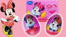 Disney surprise eggs opening Mickey mouse Minnie mouse チョコエッグ サプライズエッグ ディズニー ミッキーマウス ミニーマウス