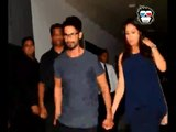 Shahid Kapoor spotted coming out of Suburban Resturant with pregnant Wife Mira Rajput