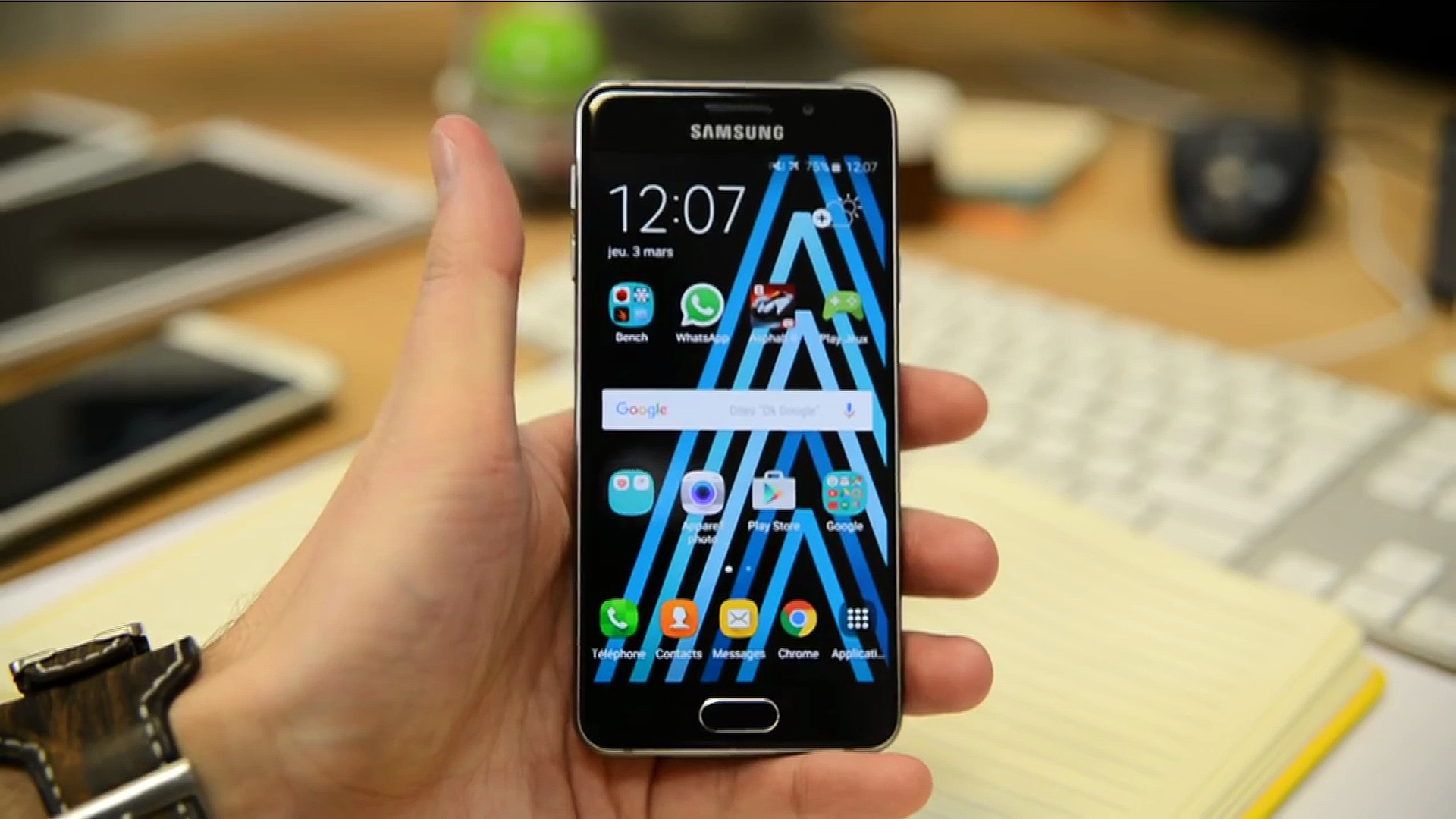 SAMSUNG GALAXY A3 (2016) : Le test