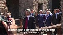 Italie: les arcades du Colisée restaurées