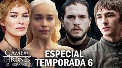 Especial Final de la Temporada 6 | Game of Thrones en español