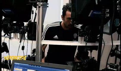 Juventuslu oyuncular FİFA17 çekimleri için kamera karşısına çıktı.