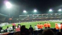 Appel des joueurs + Tifo guingampais EA Guingamp-Dynamo Kiev (19/02/2015)