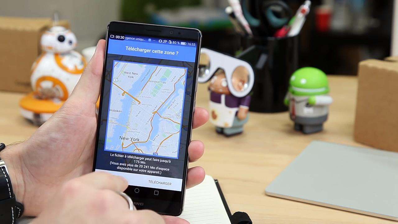 TUTO - Comment utiliser Google Maps sans réseau