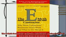 behold  The EMyth Contractor Why Most Contractors Businesses Dont Work and What to Do About It