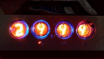 Weather forecast Nixie clock