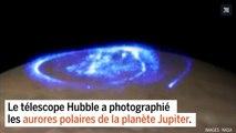 Les aurores polaires de Jupiter compilées dans un time-lapse