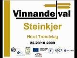 Vinnande val Steinkjer Norge 22-23 oktober 2009
