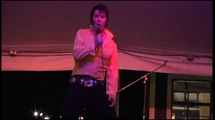 Andy Wood sings 'A Little Less Conversation' at Elvis Week