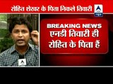 ND Tiwari is biological father of Rohit Shekhar : HC ‎