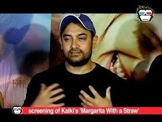 Aamir Khan, Kiran Rao hostscreening Margarita...