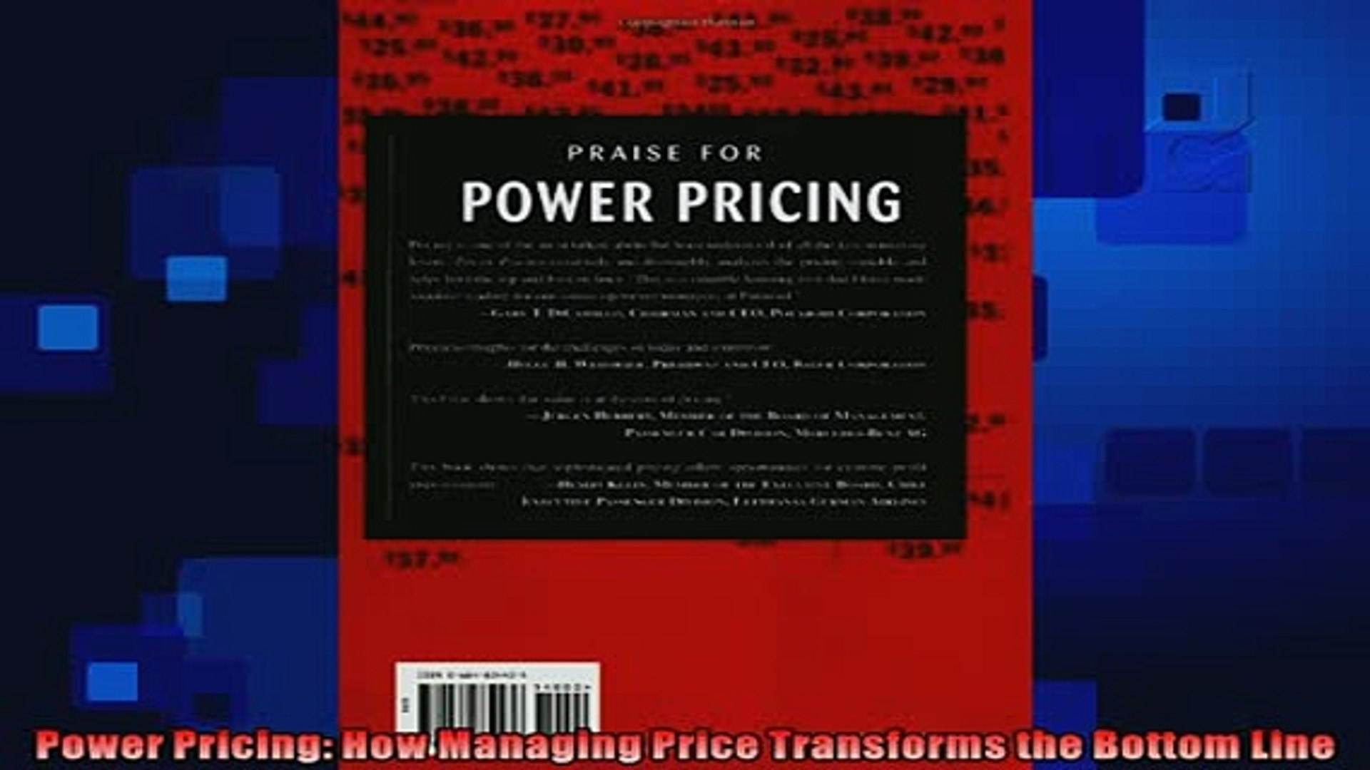 complete  Power Pricing How Managing Price Transforms the Bottom Line
