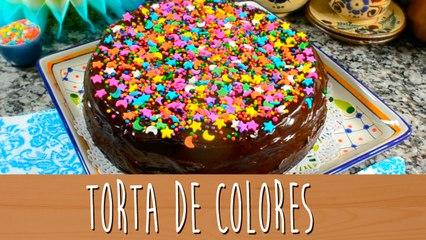 Torta de colores   Comamos Casero