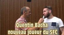 Présentation officielle de Quentin Bacha