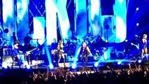 """Concert Robbie Williams - 30.03.2015 @Zénith Paris - Fin """"Let me entertain you"""" + début """"Rock DJ"""""""