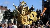 26/06/2016: Calais, Le réveil de Long Ma, le Cheval-Dragon