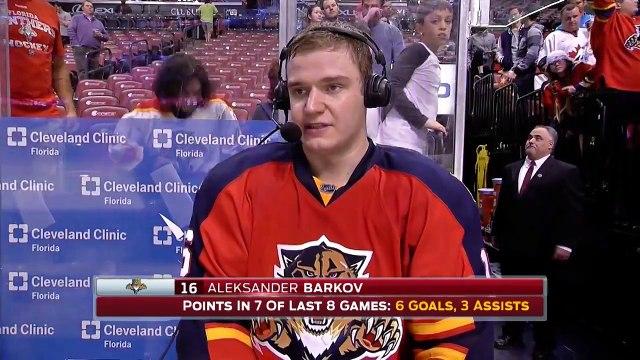 Aleksander Barkov -- Florida Panthers vs. Arizona Coyotes 02/25/2016