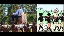Prince William and Kate Middleton mocking Africa tribes!!!