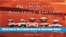 Read The Religions of Ancient Israel: A Synthesis of Parallactic Approaches  Ebook Online