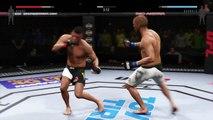 EA SPORTS UFC 2 ● LIGHTWEIGHT UFC 2 ● MMA 2016 UFC 2 ● GILBERT BURNS VS EDSON BARBOZA