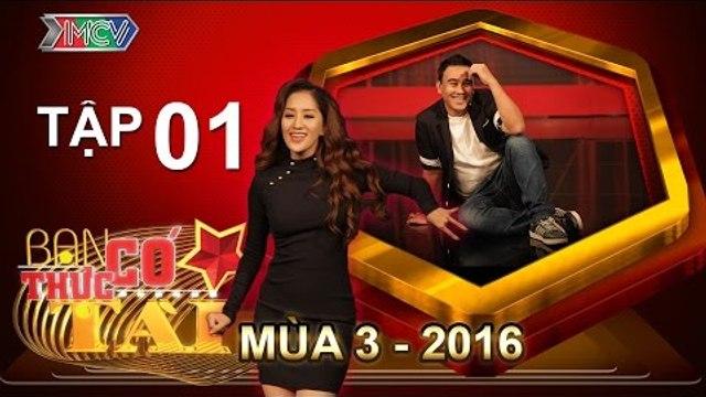 BẠN CÓ THỰC TÀI | Mùa 3 - Tập 1 | Khánh Thi ngồi ghế nóng cùng Phương Thanh, Cát Tường | 28/03/2016