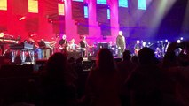 Peter Gabriel and Sting performing Games Without Frontiers in Detroit Michigan 6/30/2016