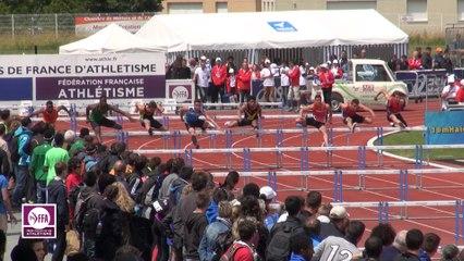 CF Cadets-Juniors : Finale 110 m haies Cadets