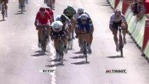 Flamme rouge - Étape 1 (Mont-Saint-Michel / Utah Beach Sainte-Marie-du-Mont) - Tour de France 2016