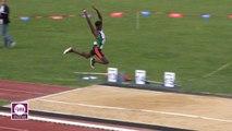Finale Triple Saut Juniors Garçons (Victoire de Melvin Raffin avec 16,93 m)