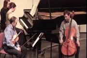 Luminus Trio - Schubert Trio in E-Flat: Andante  1 of 2