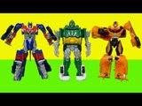 Transformers Junkheap Power attackers & Bumblebee Optimus Prime car toys 트랜스포머 정크힙 범블비 옵티머스프라임