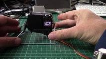 coathanger robot foot prototype
