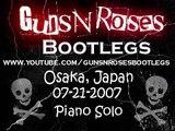 Guns N' Roses 07-21-2007 Osaka Japan - Piano Solo Axl Rose [16/29]