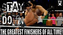 """Stay Down! """"The Greatest WWE Finishers of All Time"""" Ep.5 - The RKO [WWE 2K16 Countdown]"""