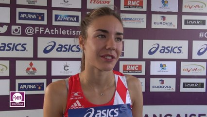 Cassandre Beaugrand : « J'aurais aimé battre le record »