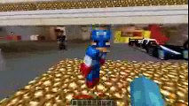 Minecraft PRISON BREAK - CAPTAIN AMERICA BREAKS THE LAW!! w_The Minevengers