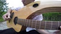 Comfortably Numb - Pink Floyd - Instrumental Harp Guitar_Electric (end solo) - Jamie Dupuis
