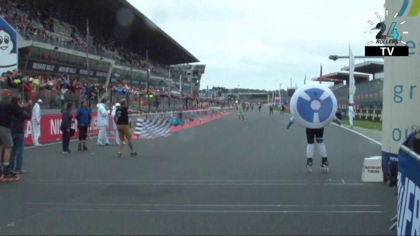REPLAY Direct live 24h Rollers Le Mans -l'arrivée