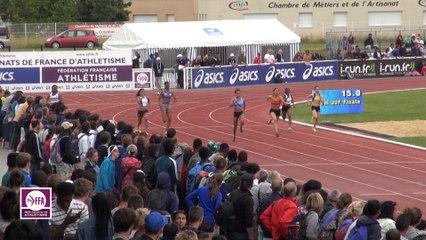 CF Cadets-Juniors : Finale 200 m Juniors Filles