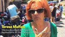 """Teresa Maffeis: """"Les gens qui sont là sont pacifistes"""""""