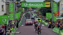 La minute maillot vert ŠKODA - Étape 2 (Saint-Lô / Cherbourg-en-Cotentin) - Tour de France 2016