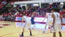 Stony Brook Men's Basketball vs. Albany - Jan. 22, 2016