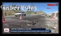 PKK, bomba yüklü araçla karakola saldırdı