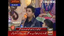 Son Of Amjad Sabri Give A Tribute To His Father In Sanam Baloch Show