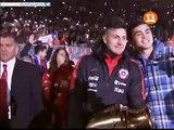 Celebracion Estadio Nacional Seleccion Chilena Campeon Copa America Centenario 2016 parte 7