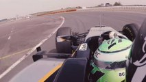 This Is What Formula One Drivers See When They're On The Track - Eye Tracking on an F1 car