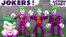 JOKERS --- Oh No! The Joker has used a clone machine! Can Batman and Superman stop him? Featuring Thomas and Friends, the Minions, DC Comics Universe Mashems, Diesel and many more family fun toys, Second half features Spongebob and Play Doh