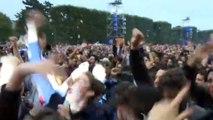 Euro 2016 : explosions de joie en France après la victoire des Bleus face à l'Islande