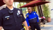 Meter Maid calls 3 cop cars on me for feeding red meters in Beverly Hills..